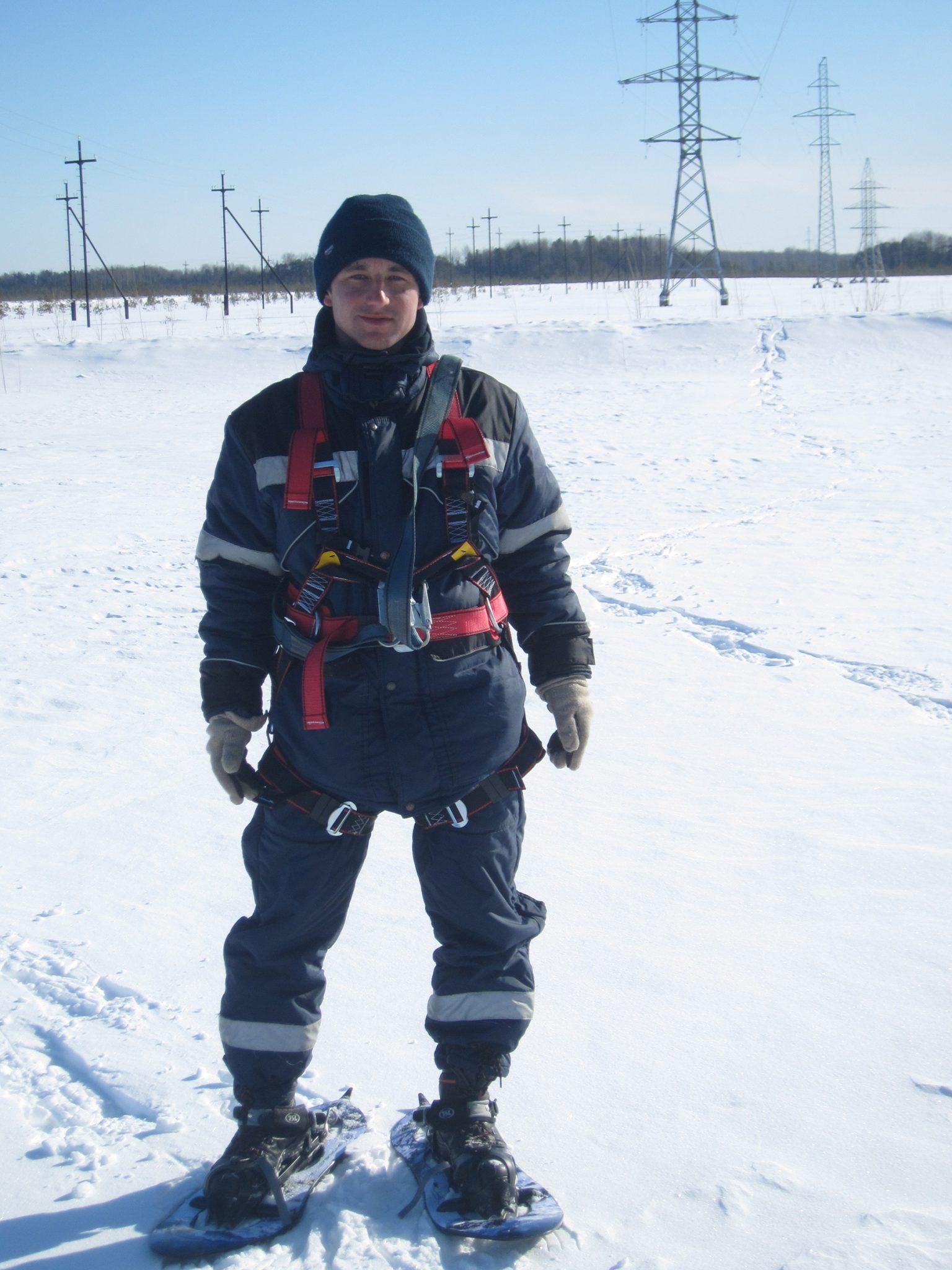 обследование опор ЛЭП и АМС в Нефтеюганске