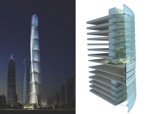 BIM Шанхайская башня