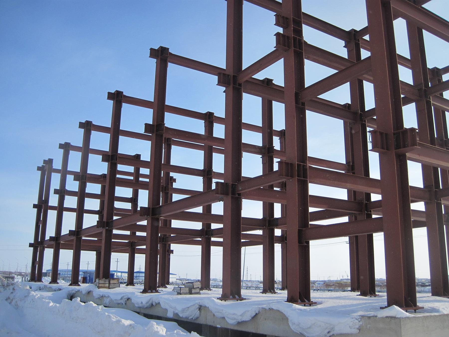 Обследование объекта незавершённого строительства в Кургане